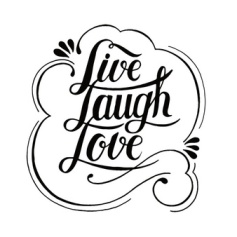 live-laugh-love-typography-design_53876-8563